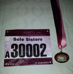 I love the medal.
