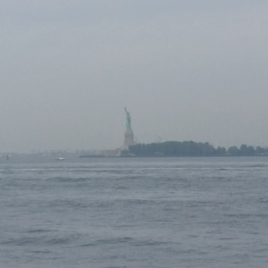 the inspiring Statue of Liberty